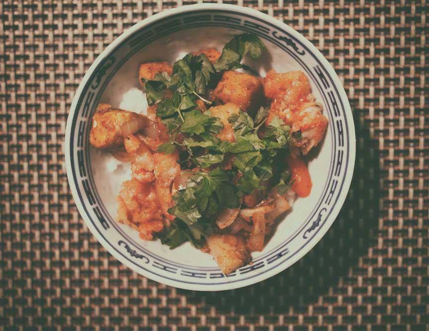 Tofu rapu kipporuoka