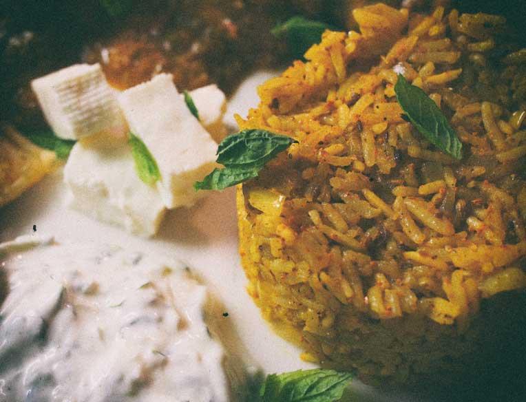 Intialainen Basmati riisi